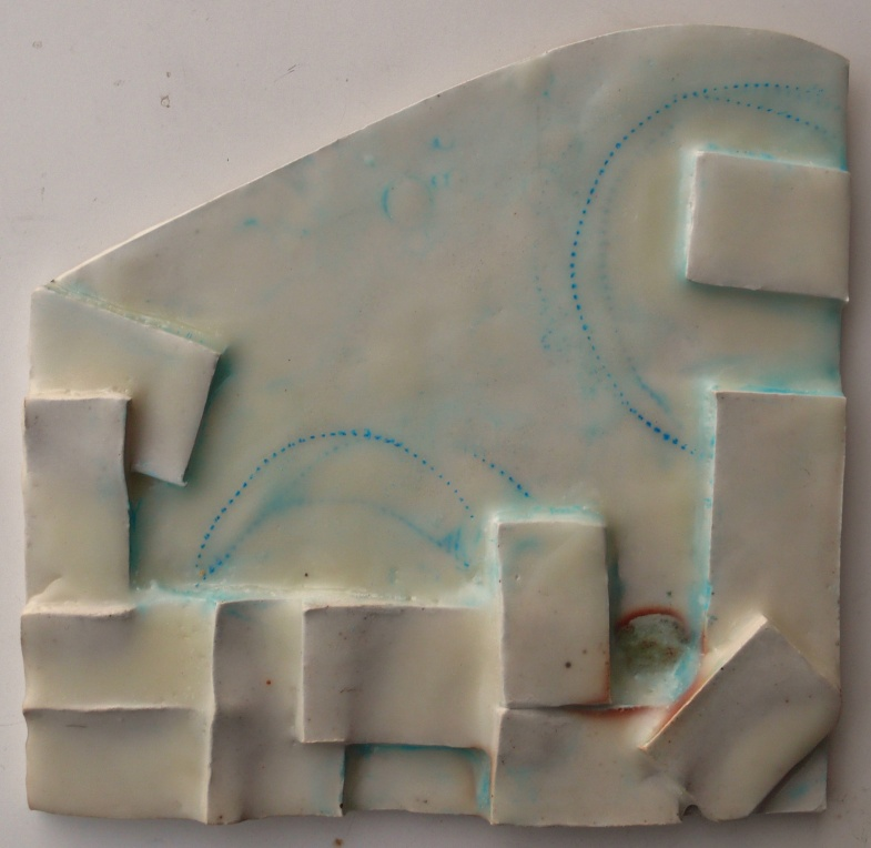 Hop Over, 2014. Collaboration with father/ clay sculptor, Mel Hildebrand